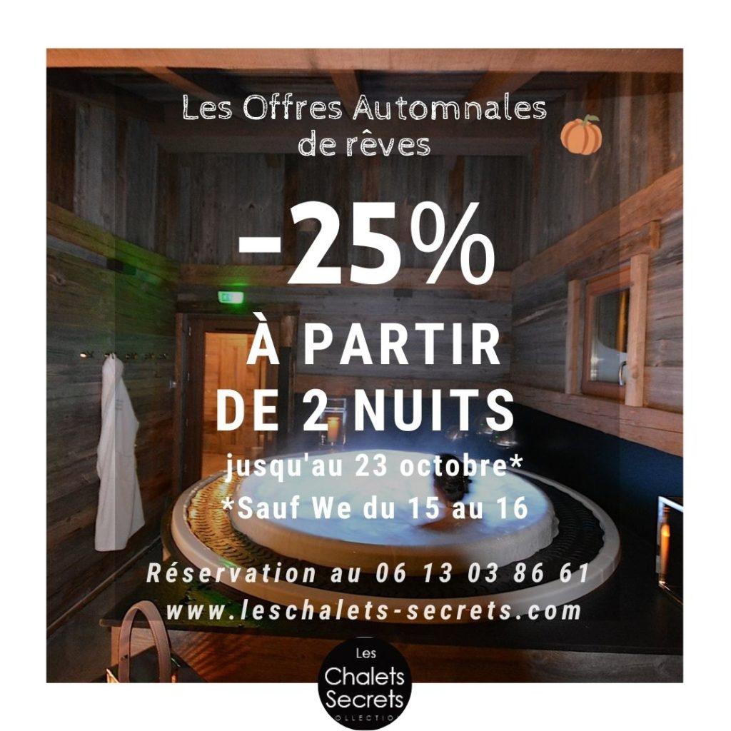 Promo Les Chalets Secrets